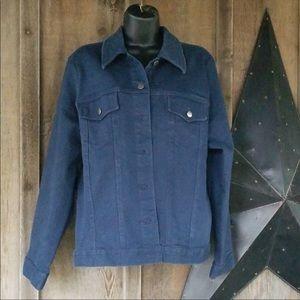 Gloria Vanderbilt Jean jacket size large